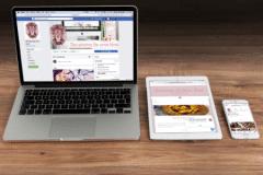 Gestão de Redes Sociais + Site